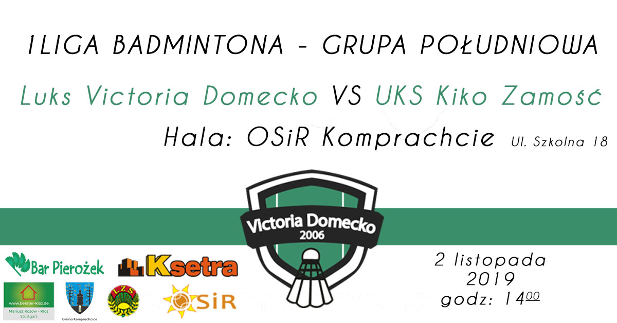I liga badmintona w Komprachcicach