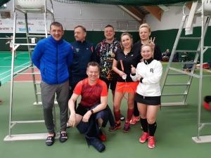 II Noworoczny Turniej Badmintona Seniorów
